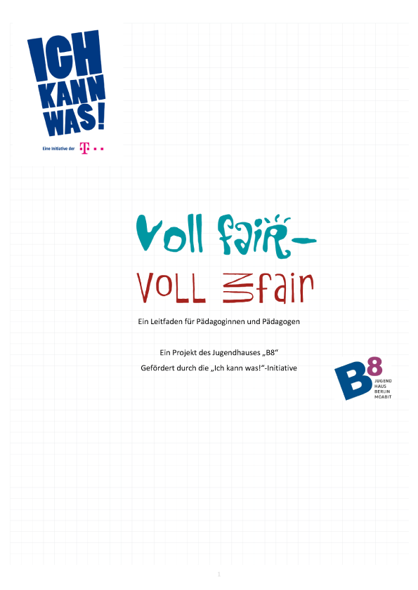 Handbuch Voll fair - Voll unfair